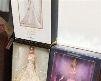Carolina Herrera Bride Barbie