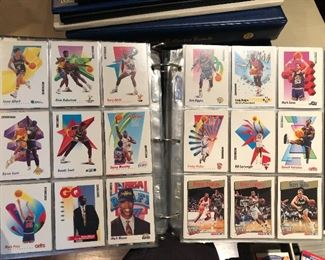 1990s NBA NHL trading cards