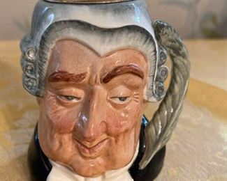 Royal Doulton The Lawyer Toby Jug Lighter