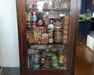 Cabinet for sale. Contents too.