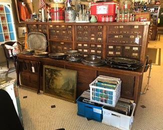 Northern Wisconsin Hardware Cabinet