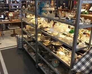 Vintage Bakers Racks