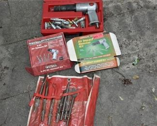 Air Hammer and Accessories