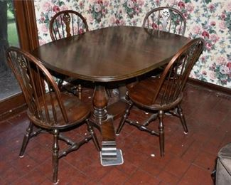 Dining Table and Four 4 Chairs