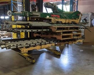 Flow rail rollers, Conveyor motor - 2N914F, Shelf Brackets