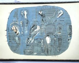 Original Painting by Achim Freyer 1969