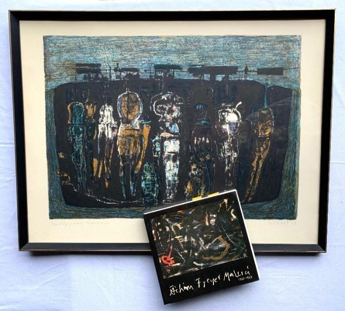 Original Painting by Achim Freyer 1967