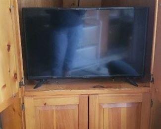 Pine TV/Media Armoire