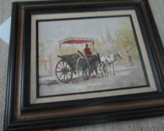Ed Blouin New Orleans French Quarter carriage ride