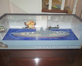 IN ORIGINAL BOX, 1:700 Scale Battleship Series by Forces of Valor