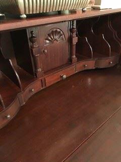 Interior of Winthrop Desk