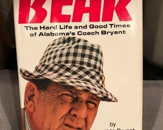 Autographed BEAR Book