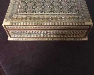MOP Inlaid Box