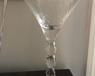 Pr Crystal Martini glasses