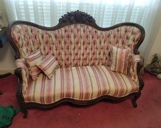 Elegant Antique Sofa