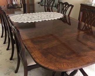Drexel Heritage Mahogany Dining Set