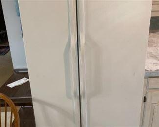KitchenAid side by side refrigerator