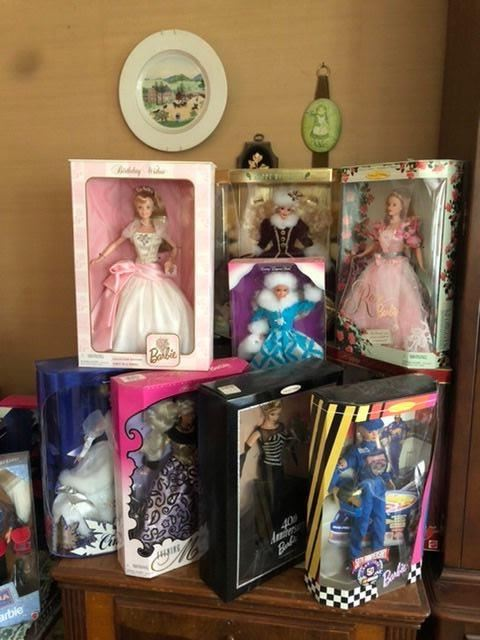 barbies never opened