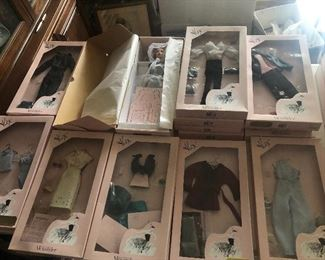 Alex dolls and clothes