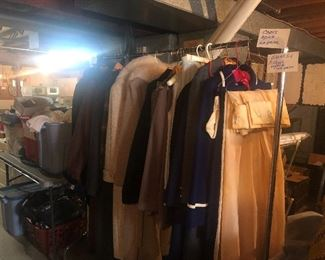 Vintage clothes and undergarments