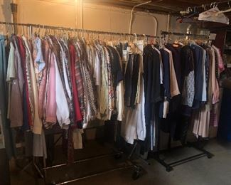 Vintage clothes, some still have tags