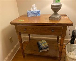 Pair of American Drew Side Tables