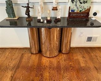 Brueton Consel Table $2500 2 available