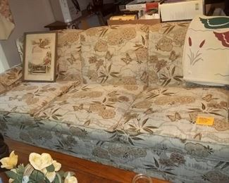 sofa and matching love seat