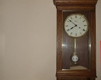 New England wall clock works