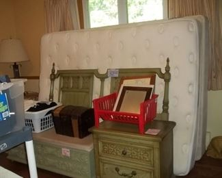 queen bed set, night stand, Lane cedar chest