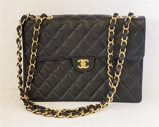 Authentic vintage CHANEL purse with certification card, like new