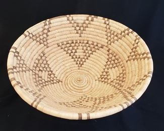Indian baskets and beadwork