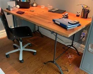 industrial desk $200
