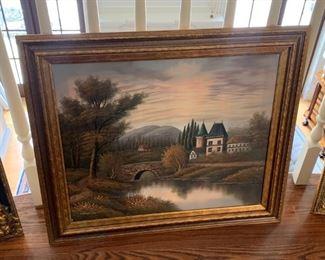 oil painting landscape $150
