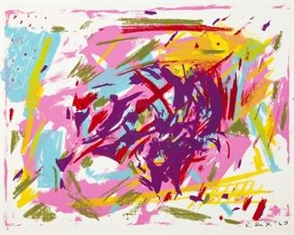 Elaine de Kooning (American, 1918- 1989) Untitled