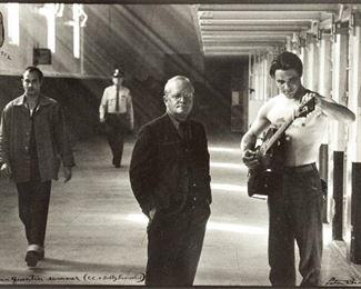 Peter Beard (American, 1938-2020) San Quentin Summer (Truman Capote & Bobby Beausoleil)
