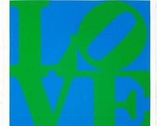 Robert Indiana (American 1928-2018) ''Love - Stable''