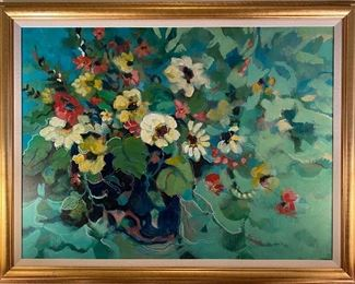 Prominent Montgomery artist and gallery owner, Barbara Gallagher