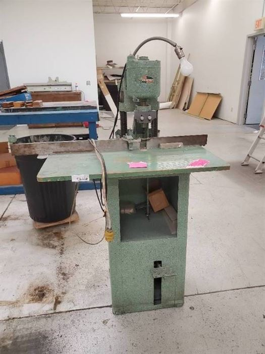 Challenge single hole paper drill