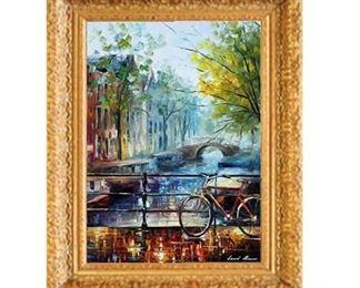 Afremov Original Oil Painting