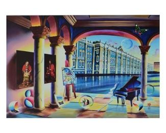 """Ferjo """"View of the Hermitage"""" Giclee"""