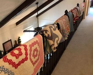 Lots of quilts