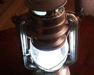 Brooklyn LED Lantern, Good Working Condition