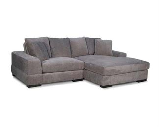 """Royst 102"""" Wide Reversible Corner Sectional With Ottoman"""