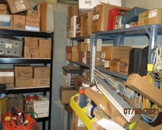 MORE AND BOXES TO BE UN-PACKED