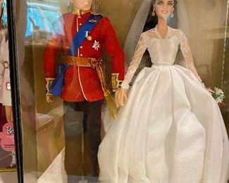 Duke & Duchess of Cambridge Collectable Barbies