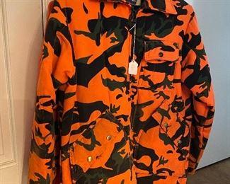 Camo hunting gear