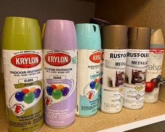 Spray Paint & other diy & crafting supplies