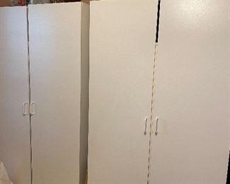 2 Matching Storage cabinets