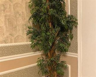 Silk florals & trees